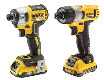 DeWalt Impact Drivers & Screwdrivers