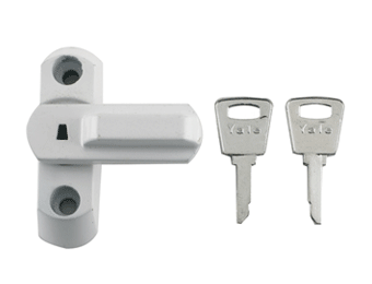 Window Locks for PVCu Frames