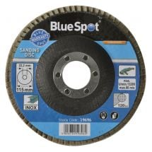 BlueSpot 115mm Flap Disc P120 (Single)