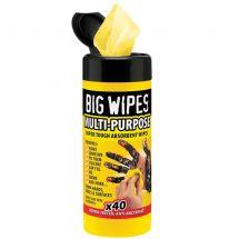 Big Wipes Industrial 40 (Black Top)