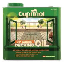 Cuprinol Decking Oil & Protector 2.5 Litre Natural Oak