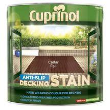 Cuprinol Ultra Tough Decking Stain 2.5 Litre Cedar Fall