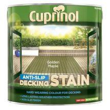 Cuprinol Ultra Tough Decking Stain 2.5 Litre Golden Maple