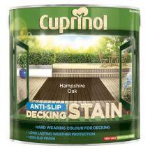 Cuprinol Ultra Tough Decking Stain 2.5 Litre Hampshire Oak
