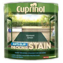 Cuprinol Ultra Tough Decking Stain 2.5 Litre Vermont Green