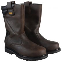 DeWalt Dark Brown Classic Rigger Boots - Various Sizes