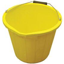 Faithfull 3 Gallon 15 litre Bucket - Yellow