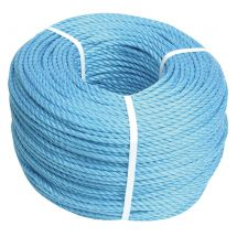 Faithfull Blue Poly Rope  8mm  15m
