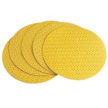 Flex Round Hook & Loop Perforated Sanding Paper P80 (Pack 25)