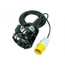 Faithfull Plastic Inspection Lamp & 3m Cable 240 Volt