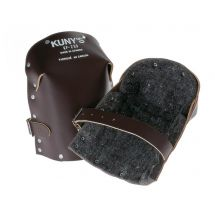 Kunys KP299 Heavy-Duty Leather Thick Felt Knee Pads