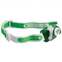 LED Lenser SEO3 Head Torch - Green / White