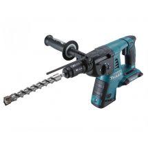 Makita DHR264Z 36v (Twin 18v) LXT SDS-Plus Rotary Hammer Drill + Q/C Chuck - Bare Unit