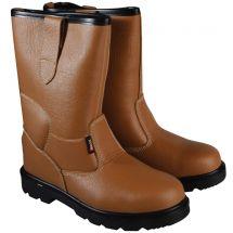 Scan Texas Dual Density Rigger Boots Tan