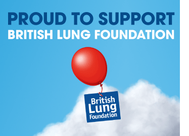 Proudly Supporting the British Lung Foundation!