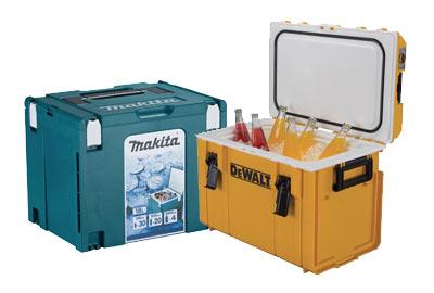 Keep cool with Makita and Dewalt