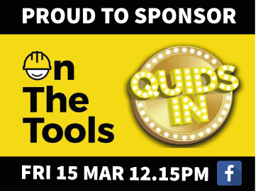 Proudly Supporting 'On the Tools'