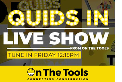 """My Tool Shed to feature on """"On The Tools - Quids In"""" LIVE Show!"""