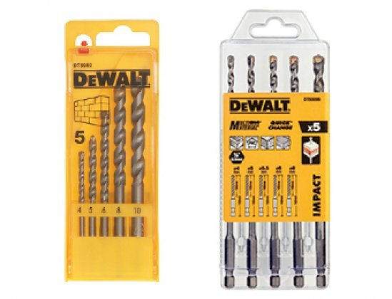 DeWalt Masonry & Tile Drilling