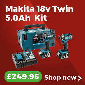 Makita DLX2131TJ 18v LXT Twin Pack 5.0Ah Kit